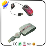 Mouse creativo del computer portatile degli accessori dei cuori su ordinazione del diamante