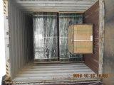 粉の上塗を施してある金網の防御フェンス