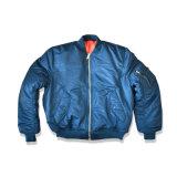 Mens куртки бомбардировщика пилота Ma1 классицистический проложенный