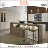 Мебель кухни самомоднейшего Veneer мебели деревянного деревянная