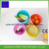 Plastikreiswaschen-Abfluss-Picknick-Plastikkorb