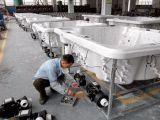 STAZIONE TERMALE ordinata ripetizione diretta 2017 della vasca calda di Oudoor della persona del classico 5 della fabbrica spesso con il salotto 2