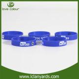 Bunter preiswerter kundenspezifischer Drucken-Silikon-Armband-AktivitätWristband