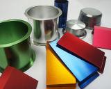 機械部品のためのアルミニウム陽極の染料