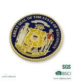 Bordo della corda che timbra le monete collettive del ricordo americano (HST-SCS-120)