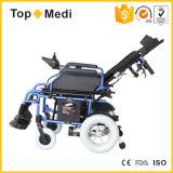 Cadeira de rodas Inclined da energia eléctrica do espaldar do projeto novo de Topmedi