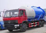 6X4 12kl Vakuumbecken-LKW-Abwasser-Absaugung-LKW