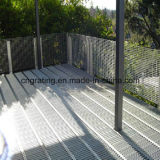 Barra de acero especial que ralla para el uso al aire libre del balcón
