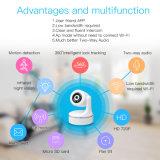 Automatische Eigennachführung 2016 neue 720p WiFi Sicherheits-Ausgangs-IP-Kamera für inländisches Wertpapier