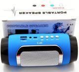 Altoparlante portatile di Bluetooth dell'altoparlante senza fili basso eccellente C-65, altoparlante del giocatore MP3