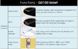 Конструкция Кореи без Bidet дистанционного управления электрического (Q-5100)