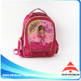 A menina atrativa Shinny o saco das crianças do miúdo do estudante da escola da tela