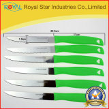 Пластичный нож стейка ножа плодоовощ места ножа держателя установил (RYST071C)
