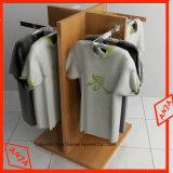 Soporte de visualización del MDF para la ropa