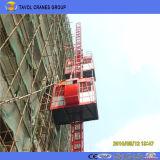 Double ascenseur de construction galvanisé par Sc200/200 de cage