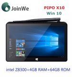 Original Pipo X10 Win 10 OS + Android5.1 4G 64G Tablet PC Mini PC