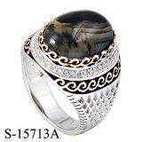 Anello d'argento dei monili 925 di modo del nuovo modello per l'uomo