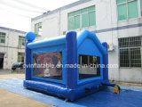 Castello gonfiabile blu del Bouncer di nuovo disegno
