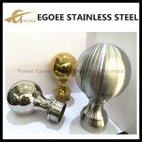 Boule creuse en acier inoxydable décorée