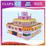 2016 vente chaude neuve Plaground avec le matériel d'intérieur d'amusement d'enfants de qualité de tremplin