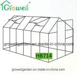 2.1m*4.2mのポリカーボネートおよびAlu。 フレームの趣味の温室(HB714)