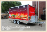 Трейлер быстро-приготовленное питания трейлеров доставки с обслуживанием Ys-Fv390h