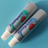 Aluminium&Plastic verpackengefäß für Zahnpasta und Rasierschaum