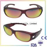 Ajustement polarisé par mode au-dessus des lunettes de soleil pour les hommes et des femmes