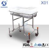 X01-5 스테인리스 아기 어린이 침대 간이 침대