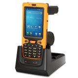 手持ち型PDA UHF RFIDの読取装置を読む無線バーコード