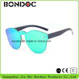 Óculos de sol plásticos da forma do desenhador brandnew (C6004)