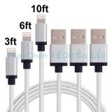 Новые 8pins голодают поручая кабель USB мобильного телефона для iPhone