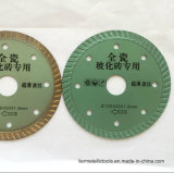 Le diamant de découpage sec ultra mince neuf d'utilisation de rectifieuse de cornière d'arrivée scie des lames