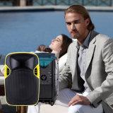 Altofalante ativo da projeção do diodo emissor de luz do karaoke do DJ da potência grande elegante