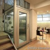 داخليّ رخيصة صغيرة مصغّرة منزل دار زجاجيّة بينيّة مصعد مصعد