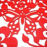 feltro Placemat di stagione di molla di 5mm & di 3mm 100% per il ripiano del tavolo & le decorazioni