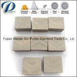 Segmento circolare del diamante di punta del disco per il multi blocchetto del granito di taglio