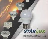 Bulbo del globo del bulbo G45 LED del LED