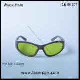 Het Type van sporten van 8001100nm Bril van de Veiligheid van de Laser van de Bril van de Laser de Beschermende voor 808nm, 980nm de Lasers van Dioden, 1064nm Nd: YAG Lasers, de Verwijdering van de Tatoegering met Frame 55