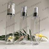 化粧品の包装のためのスプレーポンプを搭載する透過ペット香水瓶(PPC-PB-080)