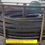 Tubo flessibile resistente dell'olio flessibile idraulico ad alta pressione del tubo