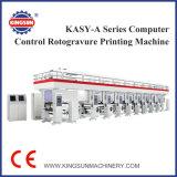 Impresora de alta velocidad del rotograbado del control de ordenador de la serie de KASY-A
