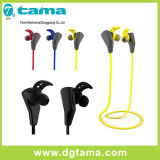 Écouteur stéréo de Bluetooth de sport sans fil d'écouteur pour l'atterrisseur de Samsung d'iPhone