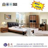 Vietnam-hölzerne Bett-Luxushotel-Schlafzimmer-Möbel (702A#)