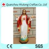 Estatua de encargo de Jesús de la resina de la decoración casera