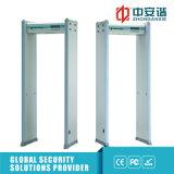 Alto detector de metales sensible del marco de puerta de 6 de /18 zonas de detección