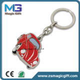 中国Keychainの工場はカスタマイズされた金属の漫画犬Keychainを作った