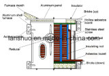 Four et machine de fonte en aluminium d'admission de fréquence moyenne contrôlée d'AP