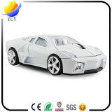 Souris sans fil photoélectrique des affaires USB de forme de véhicule de Lamborghini