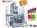 Reißverschluss-Beutel-Einsacken-Maschine für Frucht bricht Verpackung ab